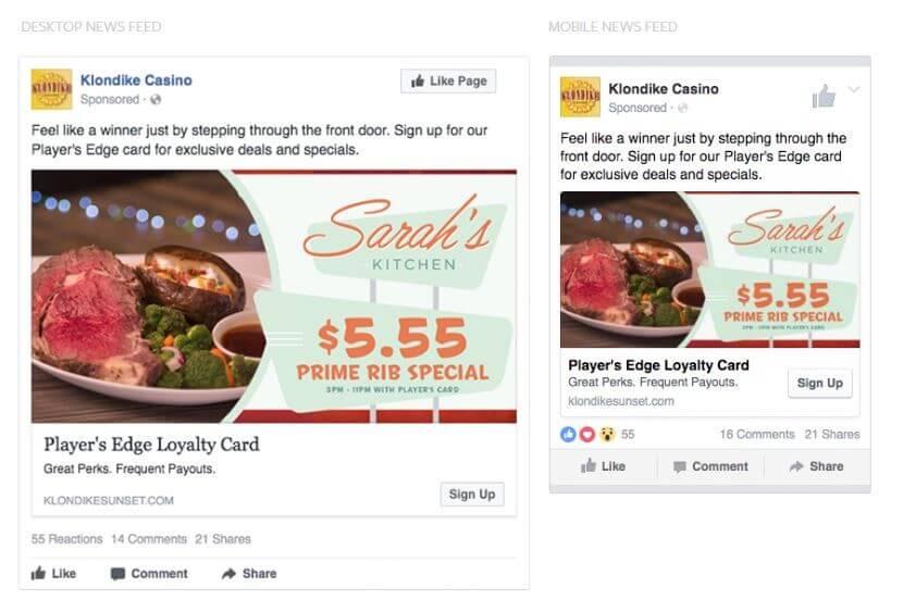 facebook ad strategies mobile vs desktop