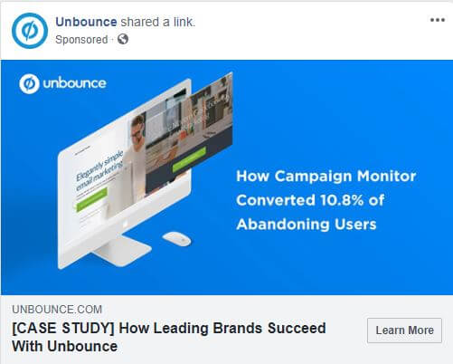 13 unbounce ad
