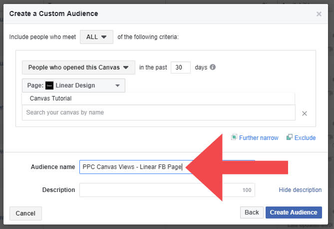 Facebook Full Screen Engagement Audience
