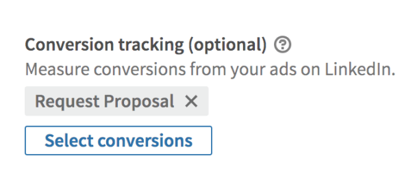 linkedin ads conversion tracking pixel