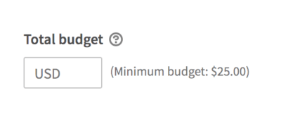 linkedin ads total budget