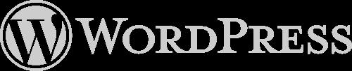 wordpress landing page design logo