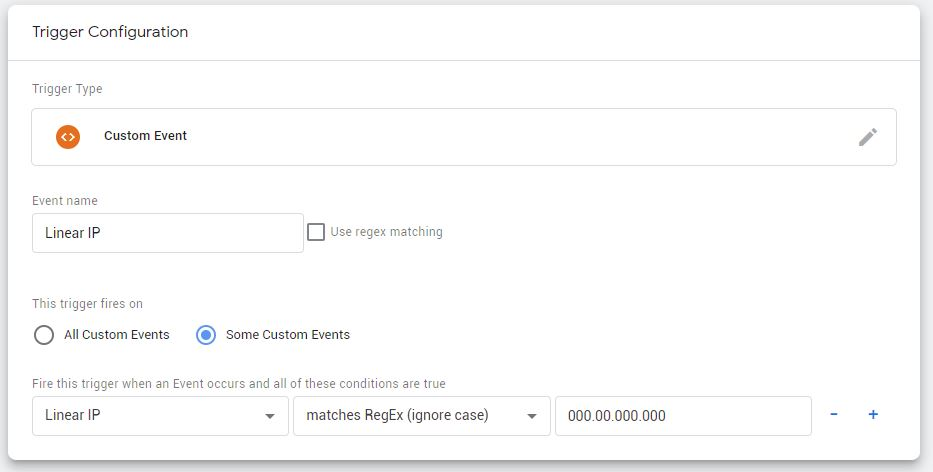 IP Address Google Tag Manager