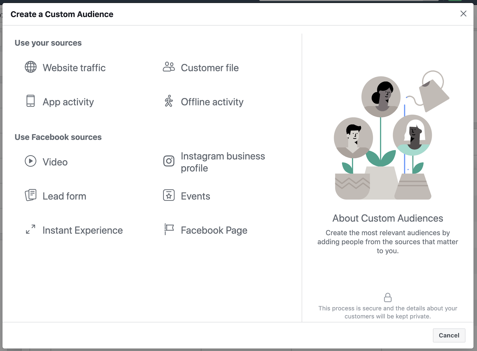 Facebook custom audiences 1