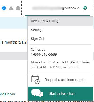 Accounts and Billing in Microsoft Advertising