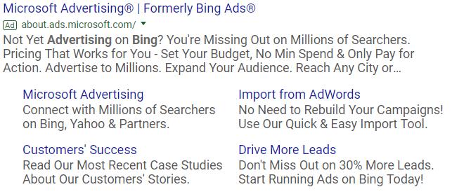 Microsoft Advertising Ad