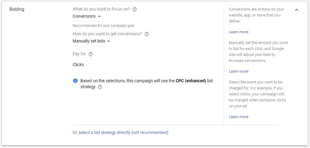 Bidding for Display Ads Google Ads Guide