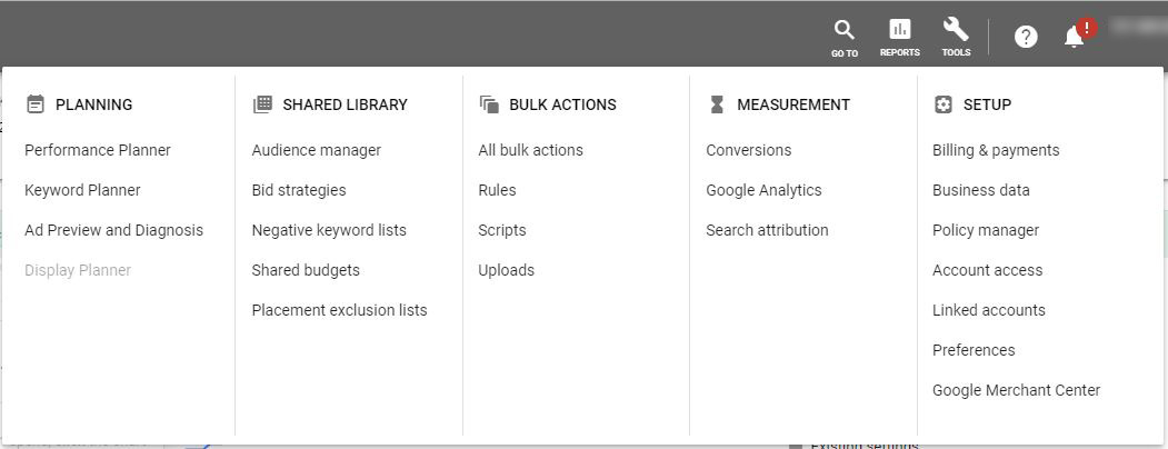 Google Ads Guide Tools