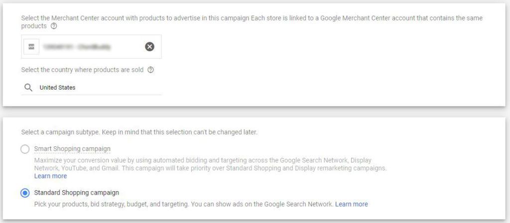Google Shopping Ads Guided Setup