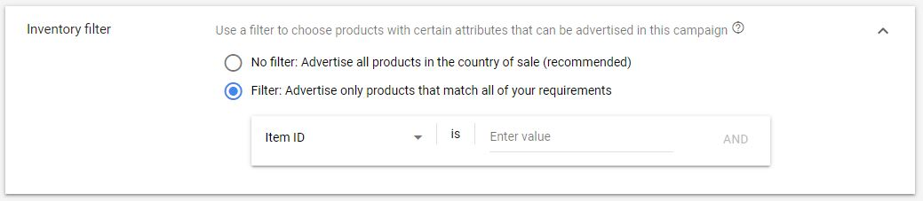 Google Shopping Ads Product ID
