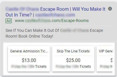 price extension
