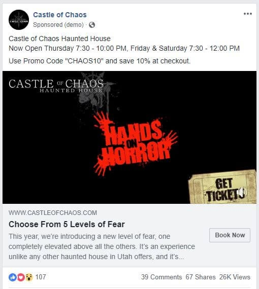 fear facebook ad strategy
