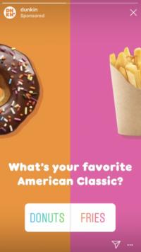 20 Dunkin ad survey