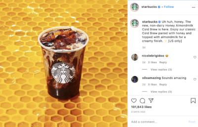 7 starbucks instagram post