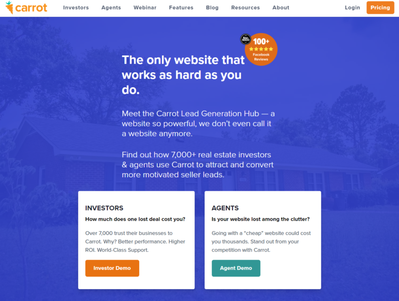 The Carrot Mico Conversion Example_Lead to Customer Funnel